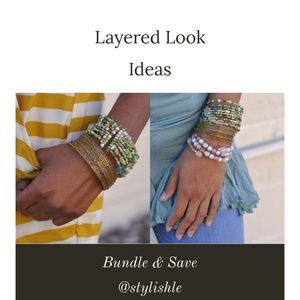 Jewelry - Key lime Wrap Bracelet